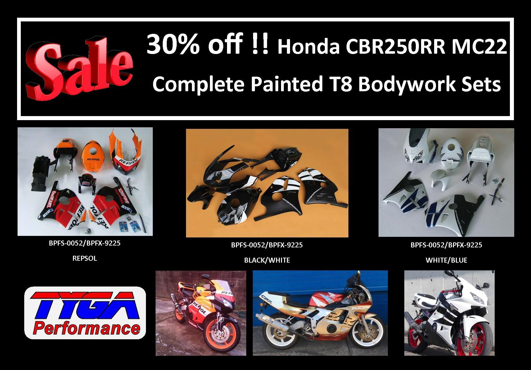 Tyga Performance 2014 Honda Cbr650f Wiring Diagram Featured New Products