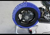 Tyre Warmers, Superbike, Blue